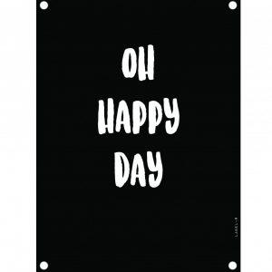 tuinposter-happy-day-zwart-.jpg